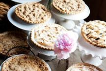 Set the table for PIE! / Table inspiration for your next pie party!