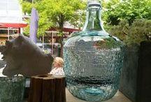 Glazen items / Glazen vazen die een uniek statement geven aan je interieur.