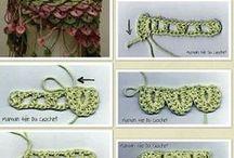 Puntos Crochet / Puntos y motivos con patrones