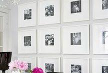 interior design / photo wall