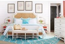 Bedroom Ideas / Turn your bedroom into your own hotel room. This private and rejuvenating space can be beautiful and comfortable.