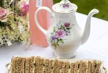 Vintage Tea Party - H Bat Mitzvah / My lovely daughter's vintage themed Bat Mitzvah!