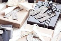 Christmas inspiration / Food ideas for christmas, gift wrapping, card crafting..