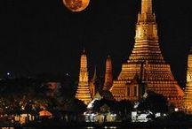 Thailand - landscape and heritage / A exuberância da paisagem e a riqueza do património cultural tailandês.