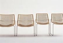 Braided and Wicker Chairs / Selection of braided and wicker chairs, from natural rope to vynil extruded spaghetti, from bamboo to cane, from braided belt to mega knitted...