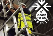 Scaffolding & Scaffold Towers / The Good to Go Safety scaffolding tag and scaffold checklist can dramatically improve work at height safety. Here we take a broader look at scaffolding safety with scaffold fails, tower checklists, scaffold accident prevention and all the latest news.