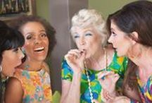 Senior Stoners / A survey in 2016 indicates that the majority of folks using marijuana are over the age of 55. You go granny!