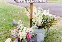 Dekorasjoner •BRYLLUP2018• / Øvrige dekorasjoner til bryllup