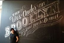 Chalkboard Type / by Seahorse Bend Press
