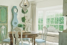 SWEDISH DECOR / by Sandy