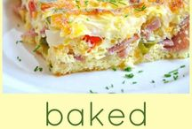 Breakfast Foods / #Breakfast foods, recipes with #eggs, #cheese, #sausage, #bacon, #toast, #omelettes, #casseroles, #quiche, #waffles, #pancakes...  / by Debbie McGuire