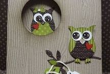 Owl Cards/Punches / by Cindy Conner Hopkins