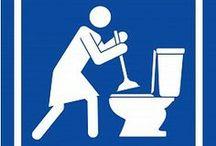 Clean Bathrooms / Bathroom Cleaning Tips