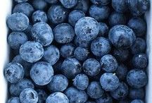 blueberry love. / they're blue. and they're really good for you. / by Kim Mccray