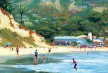 Art - Landscape - Seascapes / by Leigh Seikel