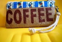 Coffee clothes & accesories / Coffee logos, slogans, etc on clothing or accessories.  / by Susan Lannoy GloversGrind