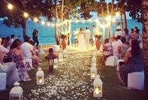 Ceremony Inspiration / Great ideas to help put together the ceremony of your dreams.