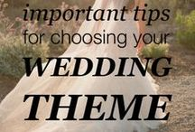 Themes, Decorations / Weddings are a celebration of a couple becoming one. Find a theme that best suits you as a couple and run with it!