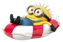 I Need a Minion...or Two...or More / Minions, minions and more minions. Love those little guys... / by Debbie McGuire