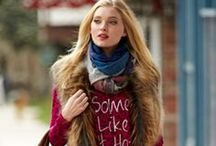 Streetstyle - Fall 2014 / shot in the beautiful streets of aspen, casual fall looks that will stop traffic