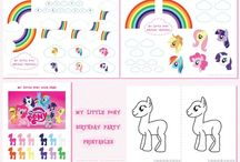 Birthday party : My Little Pony