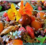 SALATE, DRESSINGS & ESSIG - Meine Rezepte / Hier poste ich alle eigenen Rezepte für Salate, selbstgemachten Essig und Dressing aus meinem Blog
