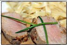 SCHWEINEFLEISCH - Meine Rezepte / Hier poste ich alle eigenen Rezepte mit Schweinefleisch aus meinem Blog