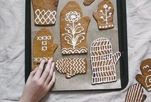 Gingerbread / Gingerbread recipes and inspiration