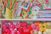 Stitching and crochet..:)