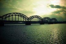 Rīga, Latvia / Rīga is where we went on our honeymoon. A truly gorgeous and magical city.