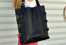 Handmade leather totes / Leather tote bags byCACHE