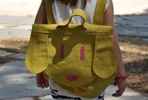 kids world / kids leather backpack by cache leather handbags