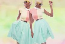 Pastel Summer / Inspiration for summer 2014 collection