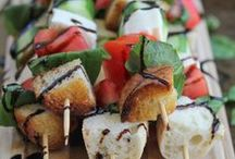 Finger Food & Appetizers / dishes for entertaining