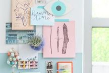Business | The Office / Pretty office supplies, packaging materials and lovely inspiration pics of beautiful, productive spaces