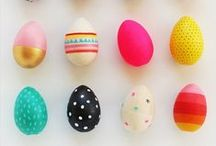 Easter | Arts & Crafts for Kids / I love an alternative to chocolate for Easter - here is some inspiration for some cute as Easter projects.