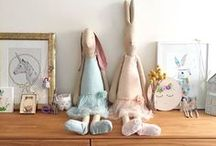 Toys | Dolls and Soft Toys / Beautiful and quality handmade dolls for so many creative handmaidens.  They make the perfect, unique gift that will last more than a child's lifetime of play.