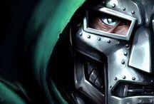 Comics / #Heroes and #Villains. Ok, mostly villains.