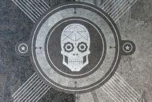 Skulls / #Cavaleras, #Sugar Skulls, anything else I can find. Because we're all going to die.