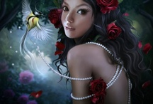 fantasy, fairy's and elves / by monica frings