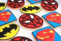 Superhero Party / visit us on www.owliepowlie.com