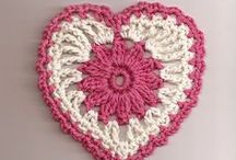 Crochet Hearts / Please help support our crochet club. http://www.sjamusic.org/crochethome.html