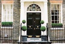 exterior design / house designs, front doors, windows, driveway designs etc