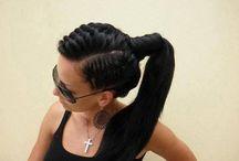 My crowning glory!  / Hair hair hair