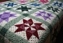 Crochet Quilts / This board contains crocheted quilt pattern ideas made out of granny squares. http://www.sjamusic.org/crochetquiltpattern.html