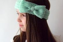 Crochet Bows / This board contains a variety of crocheted bows.