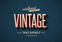 Graphic Design Resources / Collection of Graphic Resources: Mockups, Vintage Insignas & Labels, Text Effects, Brushes, Textures.. / by Indieground Design