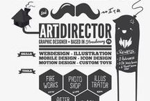 Illustrated CV's / Awesome CV design's