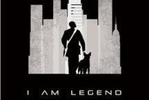 i am legend & alien Research / Research for both book jackets