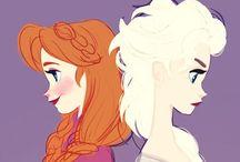 Frozen / Painel criado por Julia Wasem